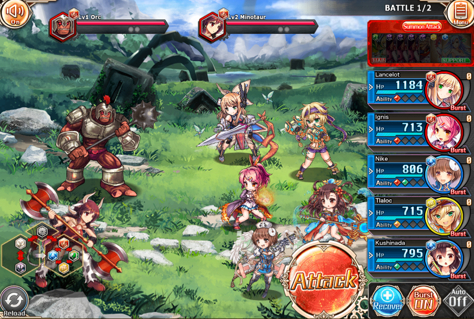 party2 kamihime